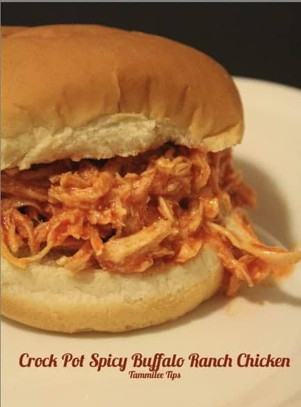 Crock Pot Spicy Buffalo Ranch Chicken