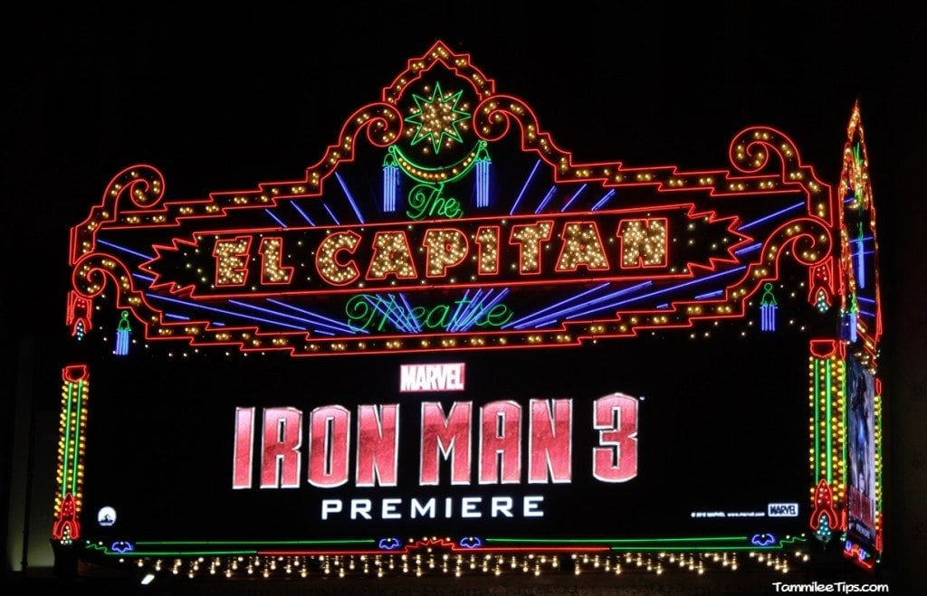 Iron Man 3 Red Carpet Premiere at the El Capitan Theater