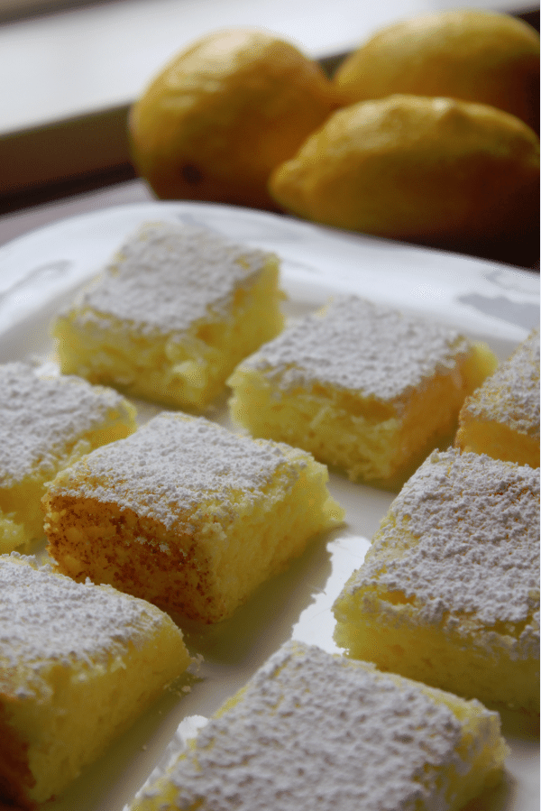 2 ingredient lemon bars Tammilee Tips