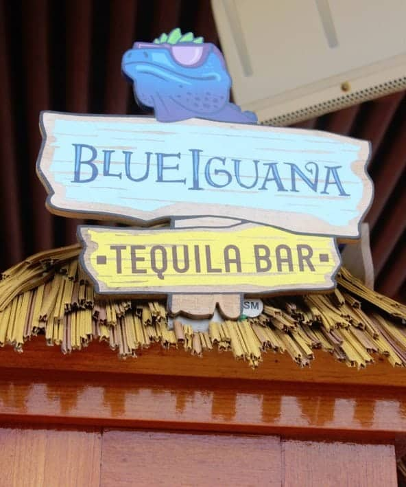 Carnival Breeze Blue Iguana Tequila Bar