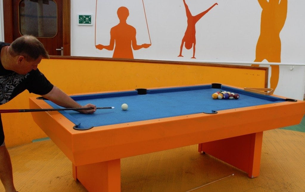 Carnival Breeze Pool Table