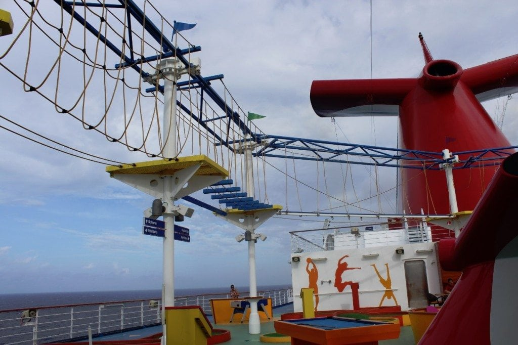 Carnival Breeze Sports Court 2