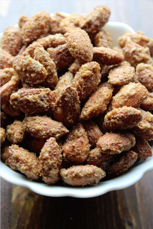 Sweet and Spicy Almonds