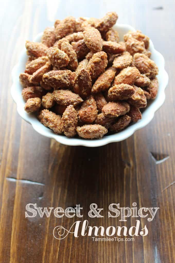 Sweet and Spicy Almonds Tammilee Tips