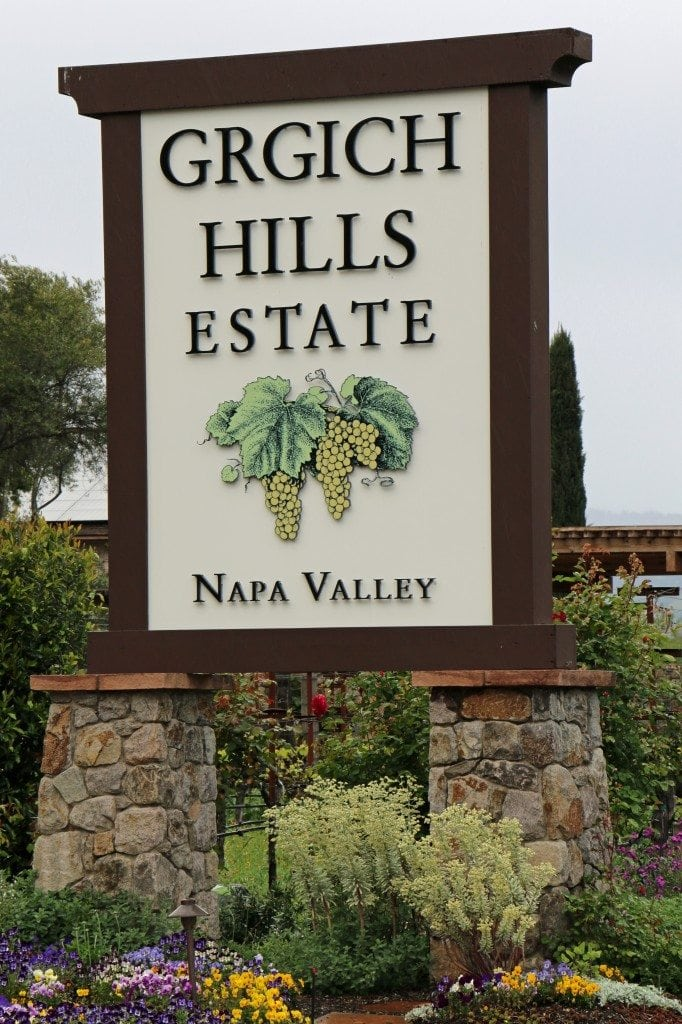 Girgich Hills Estate sign