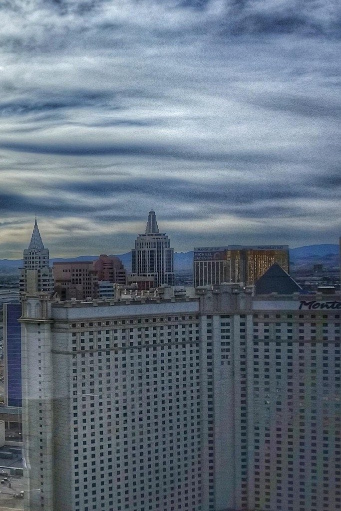 Blog View from room at Aria Las Vegas