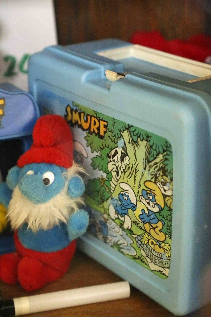 Blog smurfs at Branson Toy Museum