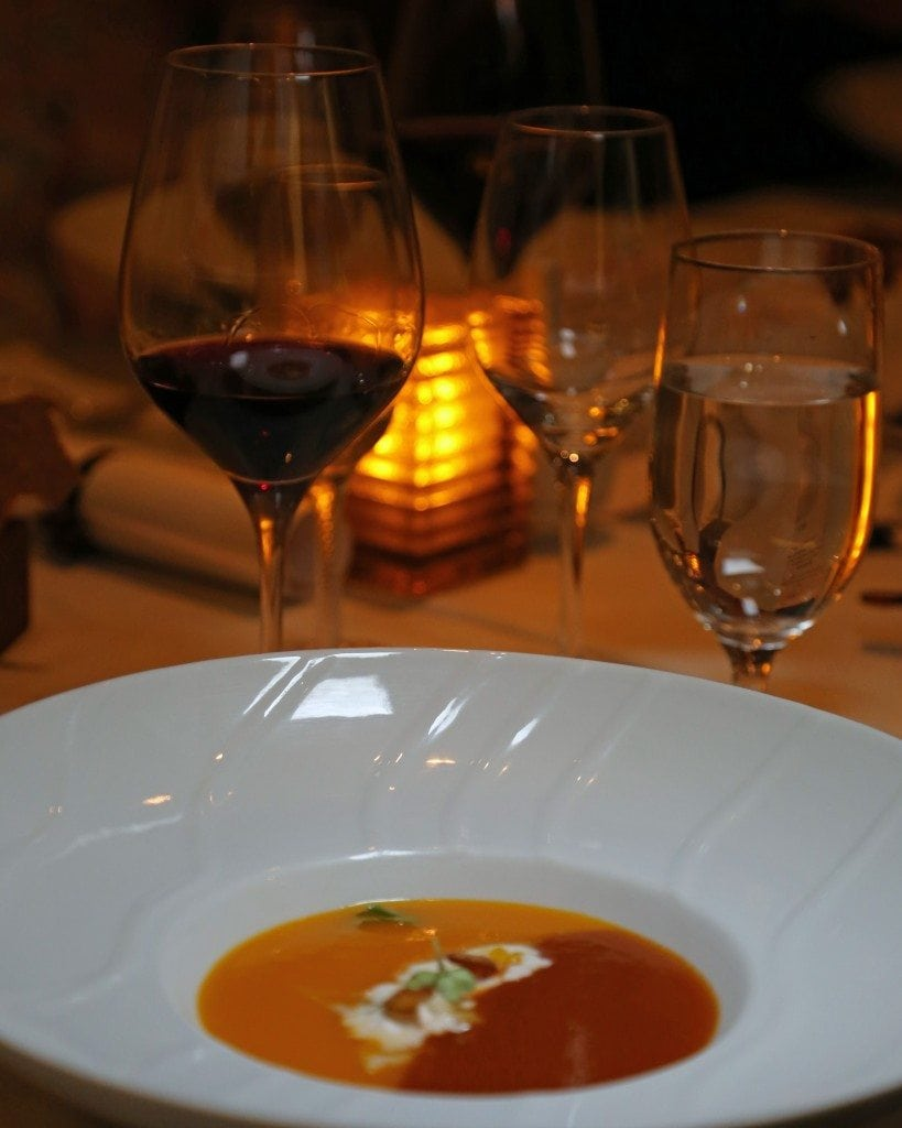 Soup at Chefs Table