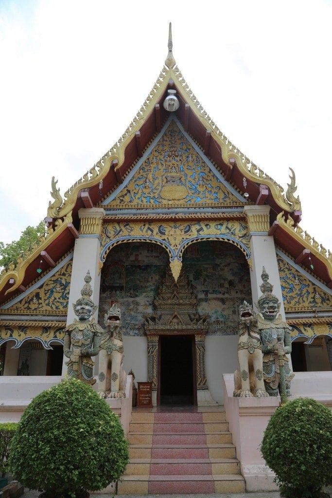 Chaing Khan Thailand temple