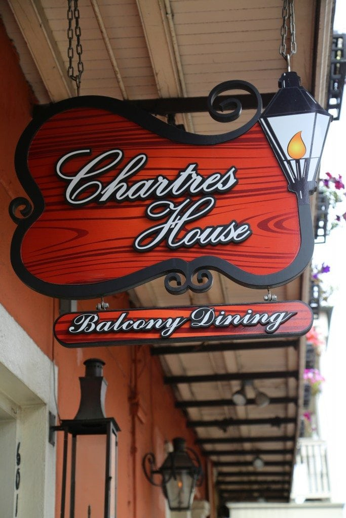 Chartres House Sign