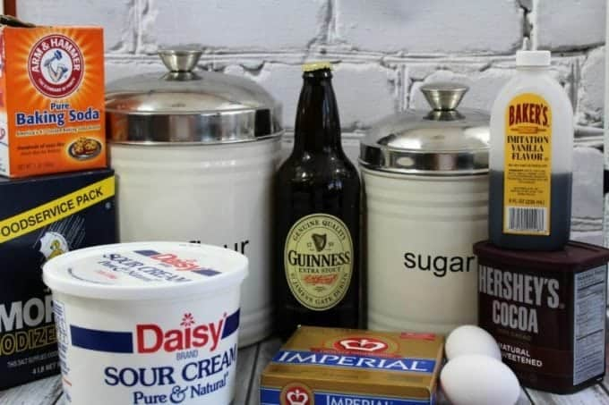 Guinness cake ingredients