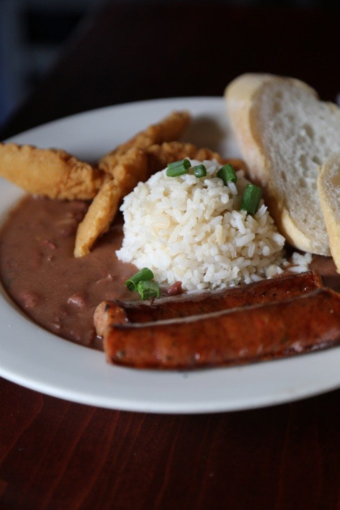 Red beans and rice Charters House