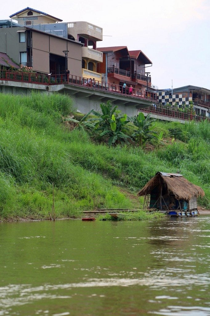 Old and New along the Mekong River