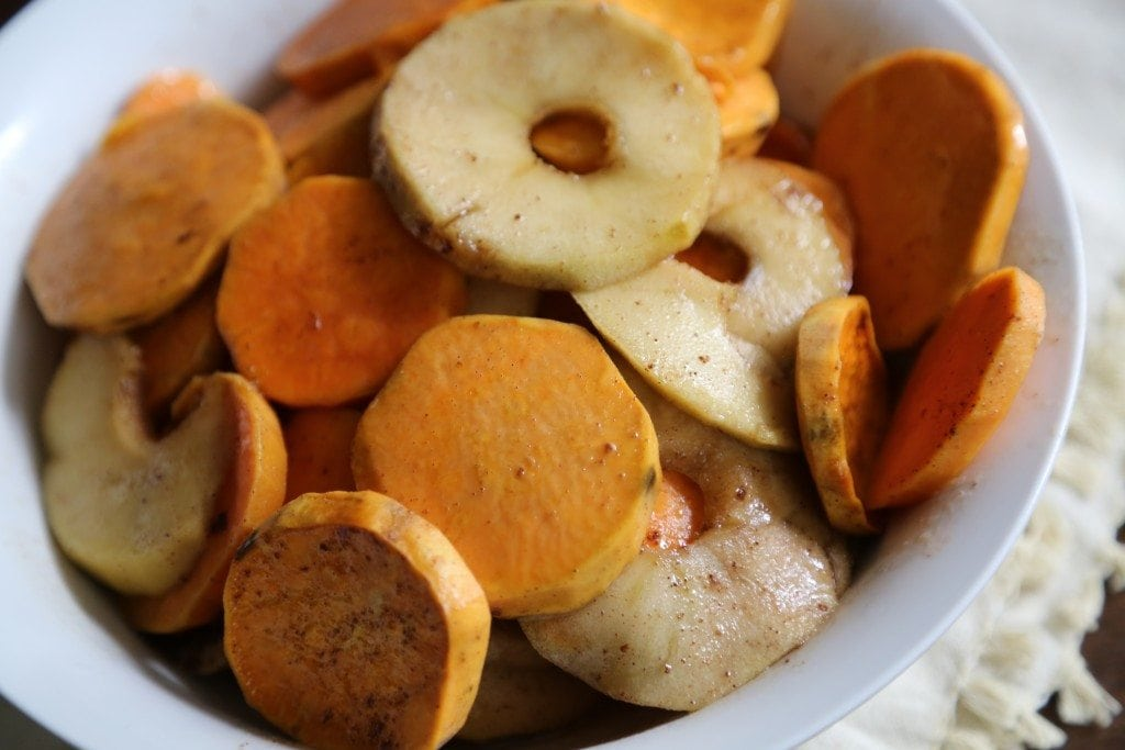 Crock Pot Apple Praline Sweet Potato Recipe