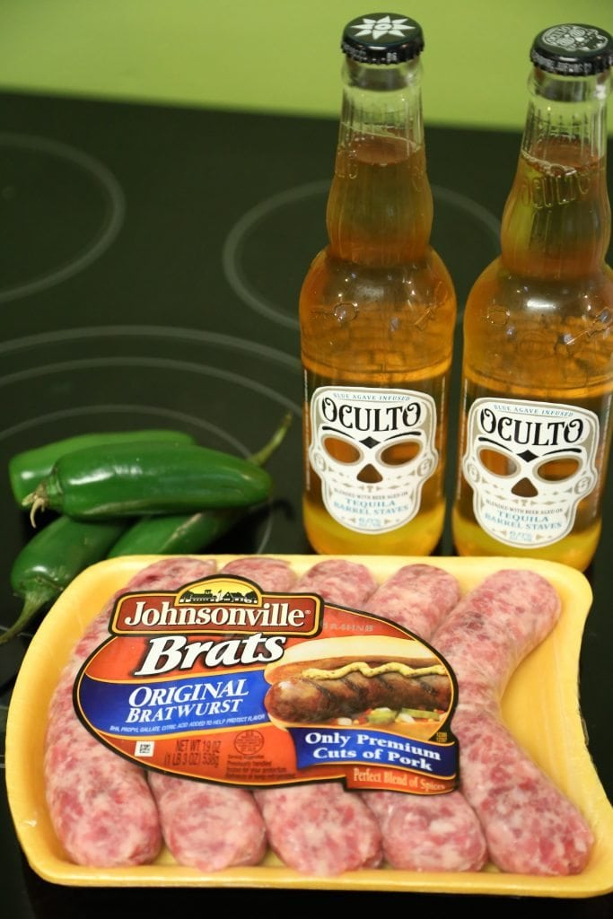 Jalapeno Beer Brats ingredients