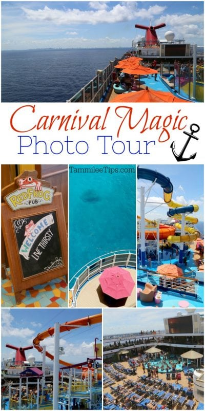 Carnival Magic Cruise Ship Photo Tour, secrets, tips, pictures and more! Including balcony room tour #carnival #cruise #vacation