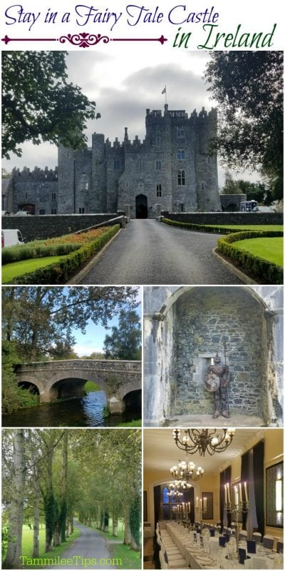 Stay in a fairy tale castle in Ireland!! Kilkea Castle is a 12th century dream castle and you can stay there! #ireland #fairytale #travel