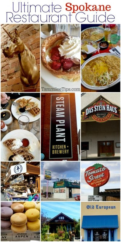 Ultimate Spokane Restaurants Guide! From downtown Spokane restaurants to the Spokane Valley and West Plains we have you covered with the top restaurants in Spokane! Where to eat, what the best dishes are and what not to miss! #spokane #washington