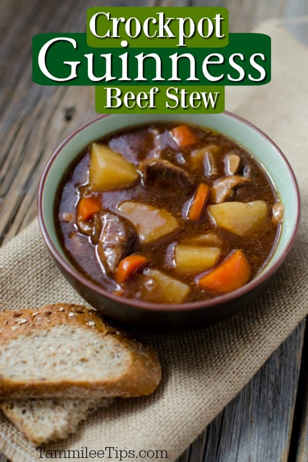 Slow Cooker Crock Pot Guinness Beef Stew Recipe Video Tammilee Tips